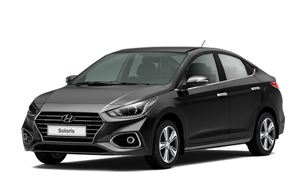 Hyundai Solaris NEW Super Series Черный