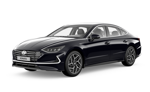 Фото Hyundai Sonata цвет Midnight Black