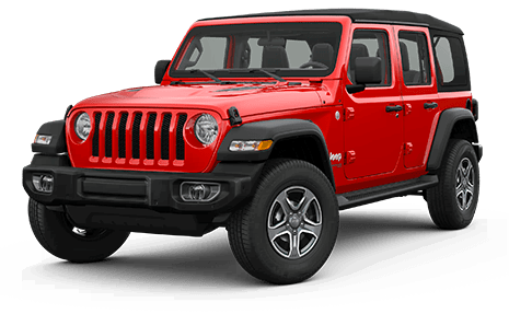 Фото Jeep Wrangler цвет Крансый Firecracker Red