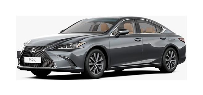 Фото Lexus ES цвет серый металлик