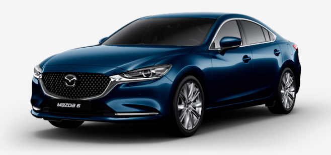 Фото Mazda 6 цвет DEEP CRYSTAL BLUE MC