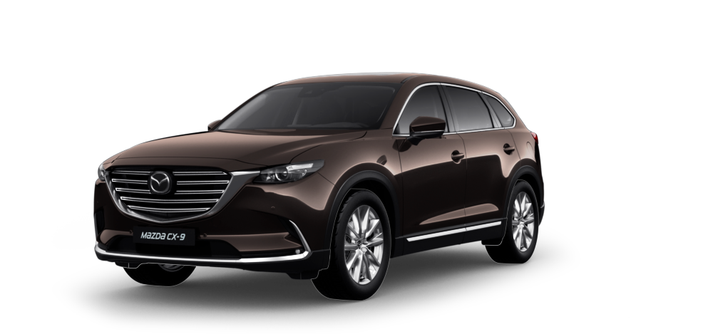Фото Mazda CX-9 цвет TITANIUM FLASH MC
