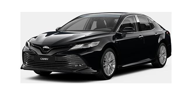 Toyota Camry в комплектации Standard New 2020 года в Москве в наличии: цена 1 762 000 ₽ в автосалоне РОЛЬФ Ясенево Toyota — 305792